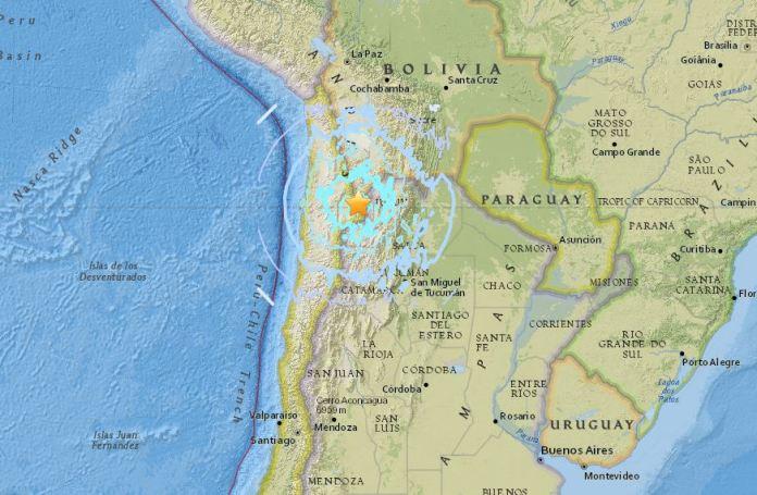 terremoto Cile Argentina