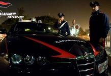 Carabinieri di Catanzaro notte