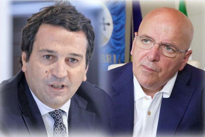 Da sinistra Fausto Orsomarso e Mario Oliverio