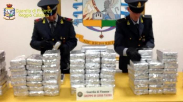 Guardia di Finanza Rc cocaina