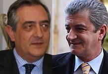 Da sinistra il presidente di Coldiretti Calabria Pietro Molinaro e Luigi Incarnato (Sorical)