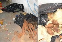 Reggio, la Polizia trova fucili e granate slave