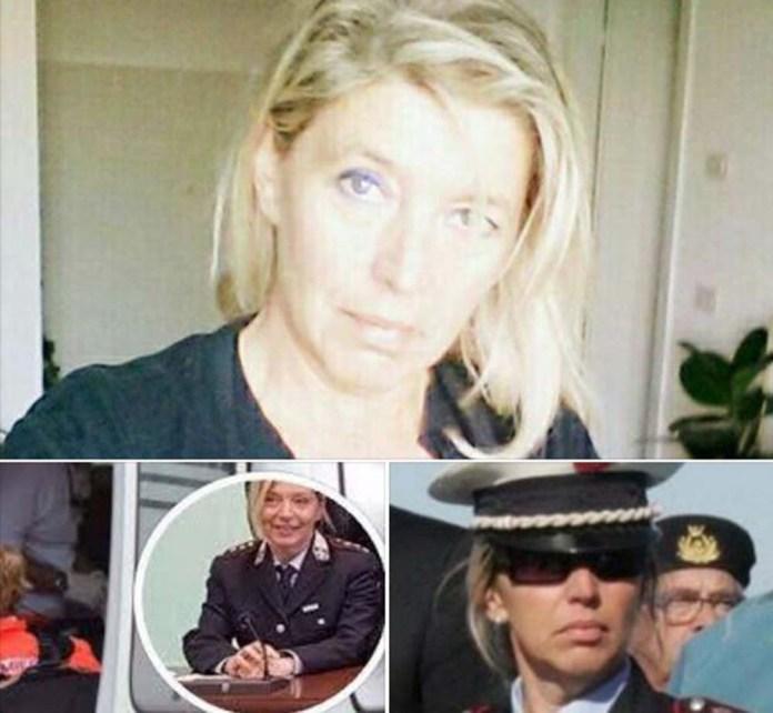 La comandante dei vigili Loredana Busonero