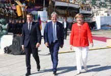 Macron, Gentiloni e Merkel a Trieste