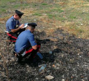 carabinieri arresto piromane
