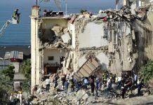 palazzina crollata Torre Annunziata