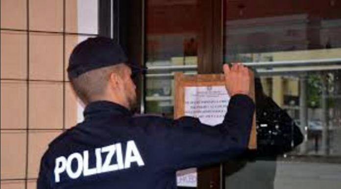 sequestro locale polizia
