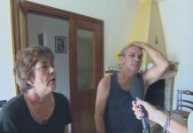 I genitori di Lucio Marzo, l'omicida reo confesso dell'omicidio di Noemi Durini