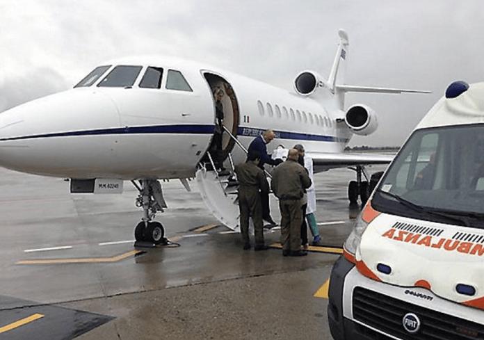 Falcon 900 aeronautica ambulanza