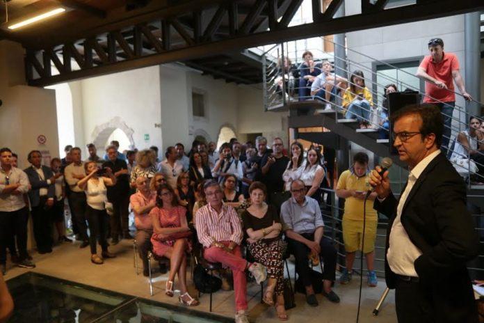 Mario Occhiuto all'incontro sul Centro storico di Cosenza