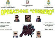 arresti Brescia operazione Cerbero