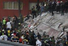 terremoto in Messico 19-9-2017