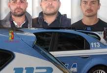 Vincenzo Condello, Francesco Iannì, Salvatore Infantino arrestati a Gioia Tauro