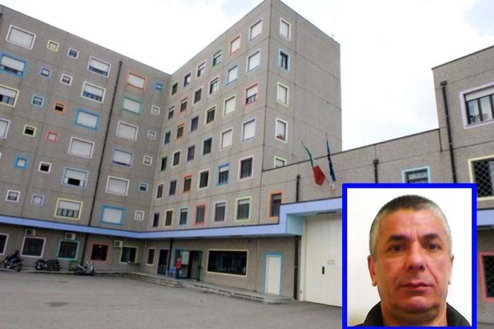 Il carcere di Milano Bollate. Nel riquadro Giuseppe Morabito