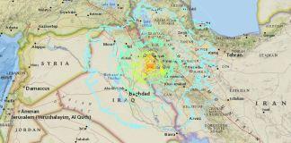 terremoto Iraq Iran