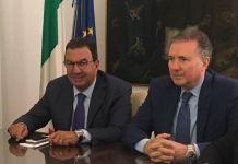 I senatori uscenti Tonino Gentile e Pietro Aiello, ex Ap oggi Forza Italia