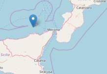 terremoto Sicilia Calabria
