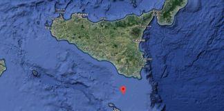 terremoto canale di sicilia ragusa