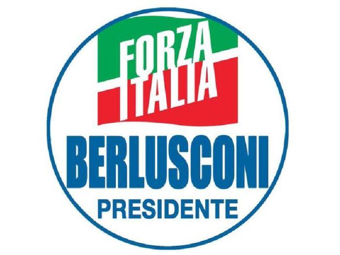 Il simbolo di Forza Italia Berlusconi Presidente