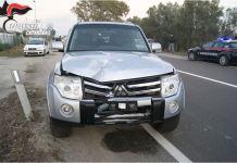 Mitsubishi Pajero incidente Aiello sellia