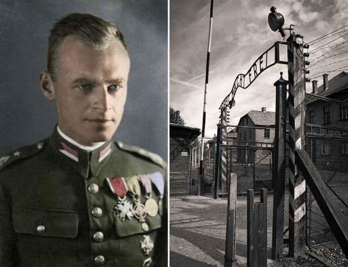 L'ufficiale polacco Witold Pilecki