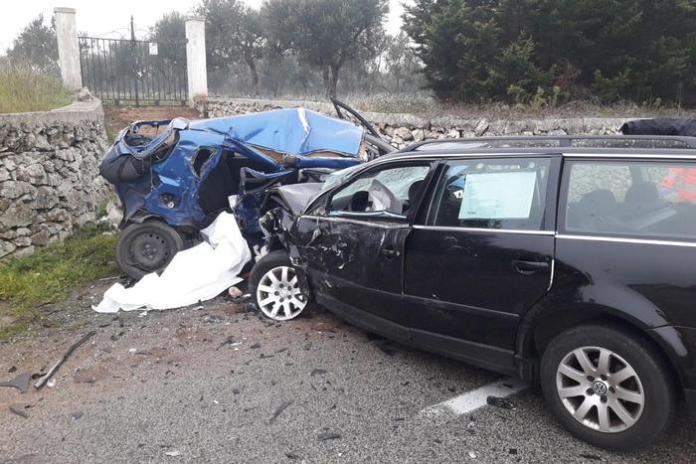 Drammatico incidente a Gioia del Colle, in Puglia: 4 morti, tra cui tre giovanissimi