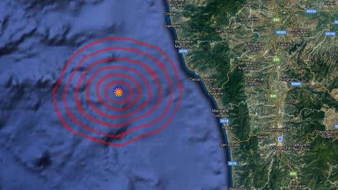 terremoto cetraro