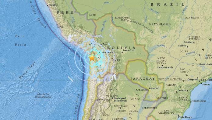 terremoto in cile putre