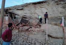 I danni del terremoto in Perù (Twitter/Agenzia Andina)