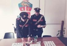 droga sequestrata cc carabinieri corigliano