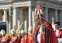 Papa Francesco Domenica delle Palme