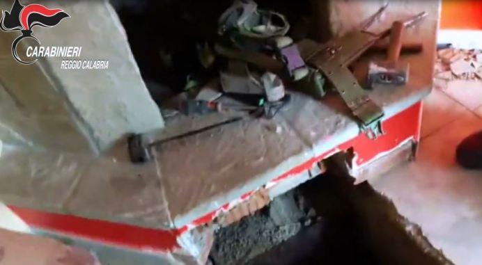 Bunker sotto il camino a Locri
