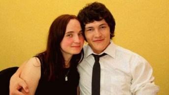 Kuciak con la fidanzata