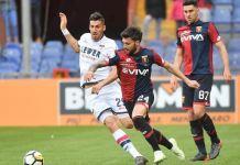 Bessa e Trotta in azione durante Genoa Crotone