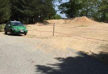 pista da motocross
