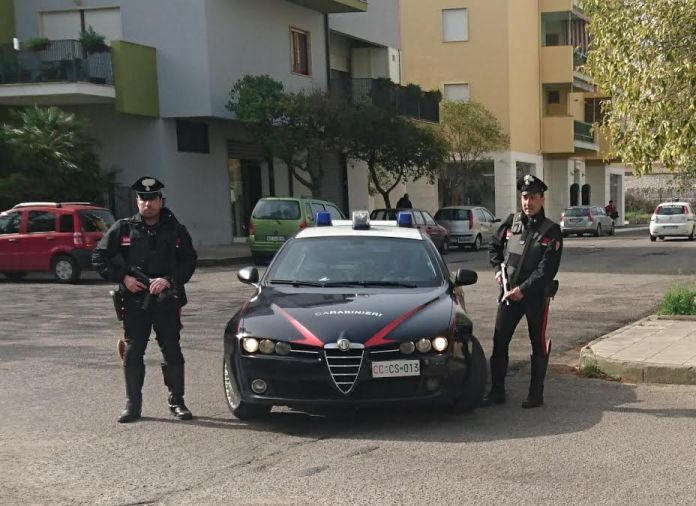 carabinieri corigliano scalo