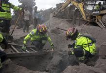 Eruzione del Volcan de Fuego, in Guatemala