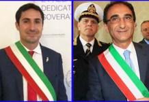 I sindaci di Soverato e Catanzaro Ernesto Alecci e Sergio Abramo
