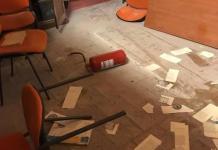 Atto vandalico nella biblioteca comunale Lucifero di Crotone