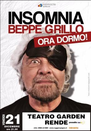 Insomnia Beppe Grillo show