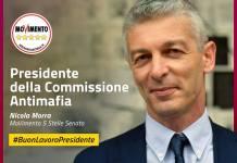 Nicola Morra presidente Commissione Antimafia