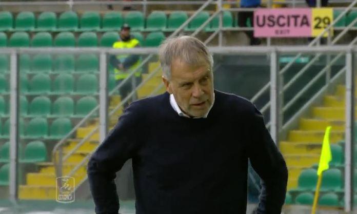Piero Braglia durante Palermo-Cosenza
