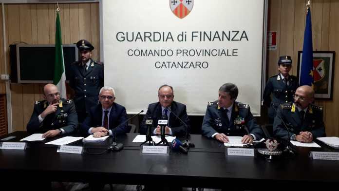 conferenza Gratteri operazione Quinta Bolgia