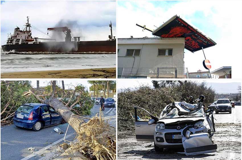 Il maltempo flagella il Centrosud, danni e 4 morti