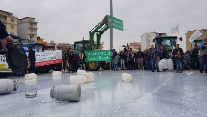 protesta allevatori calabria