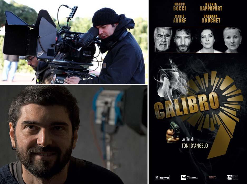 """A Catanzaro il primo ciak per """"Calibro 9"""", il film di Toni D'Angelo"""