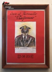 Presente ai militari della Stazione in ricordo del Maresciallo Di Gennaro