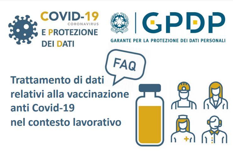 """Garante Privacy: """"Datore di lavoro non può chiedere al lavoratore lo stato vaccinale"""""""