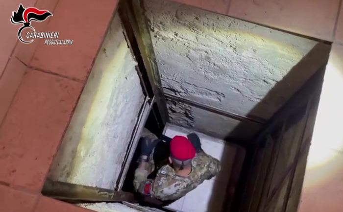 Scoperto un bunker nel Reggino, indagini