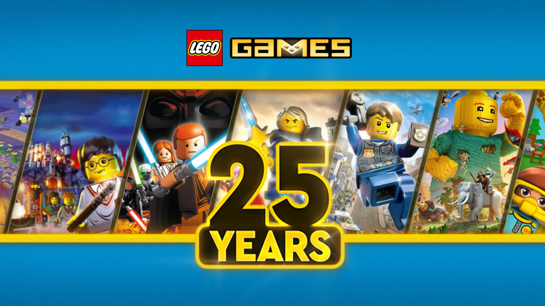 LEGO Games 25 Years